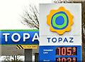 J4669 : Topaz petrol station, Comber (April 2016) by Albert Bridge