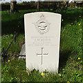 TL8169 : Headstone of 2nd Lt John Marcon Floyd (RAF) by Adrian S Pye