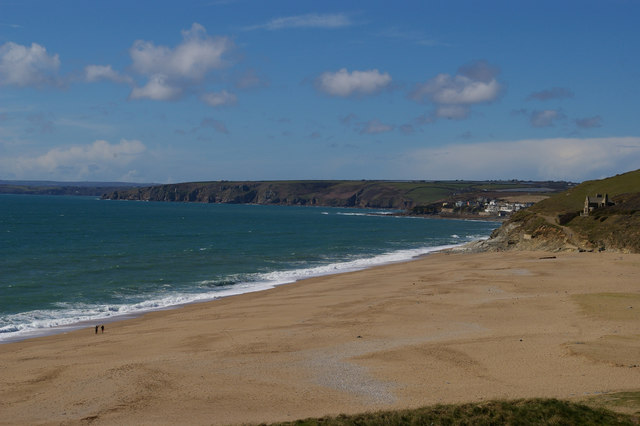 Loe Bar from the south