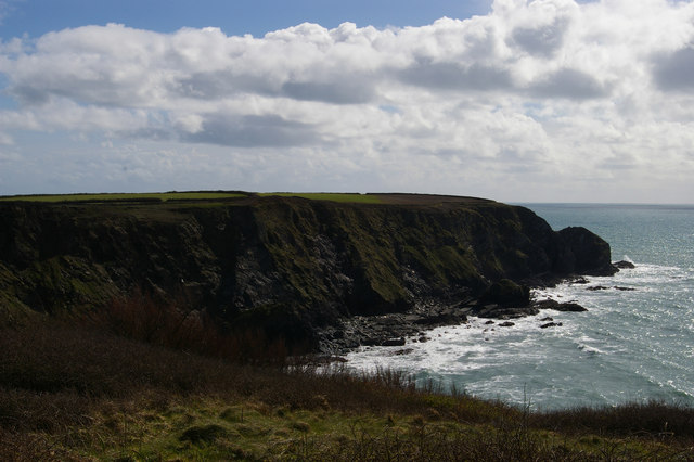 Halzephron Cliff