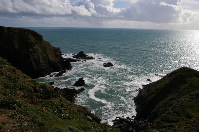 Pedngwinian from the South West Coast Path