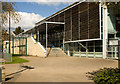 TQ2884 : Entrance, Talacre Community Sports Centre by Julian Osley