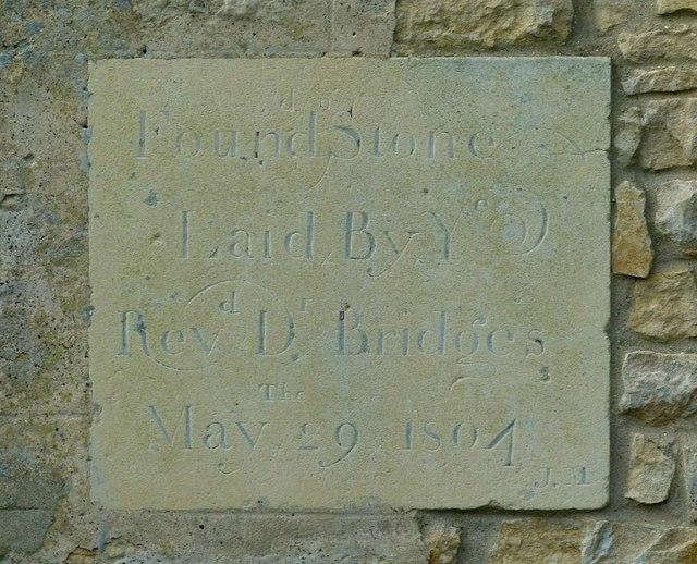 Foundation Stone 9 10 Laxton