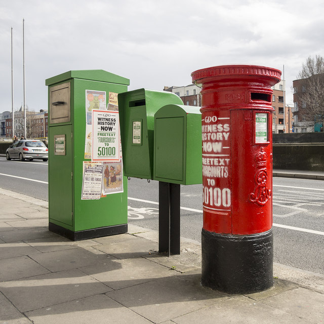 Postboxes, Dublin