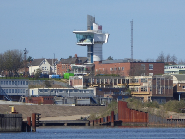 View of Wallsend across the River Tyne