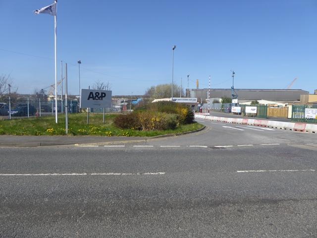 Industrial site, Wagonway Road, Hebburn