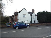 SK1831 : Houses on Uttoxeter Road, Foston by JThomas