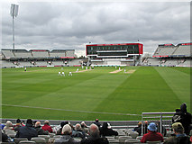 SJ8195 : Old Trafford: a cold day for cricket by John Sutton