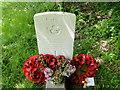 TM0159 : Headstone of Sergeant George Frederick Ward by Adrian S Pye