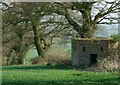SK9100 : Pillbox near Morcott by Alan Murray-Rust