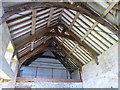 ST4717 : The roof of the old priory hall in Stoke-sub-Hampden by Sarah Charlesworth