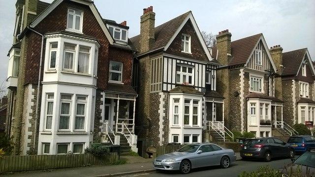 Victorian villas, Gatestone Road, SE19