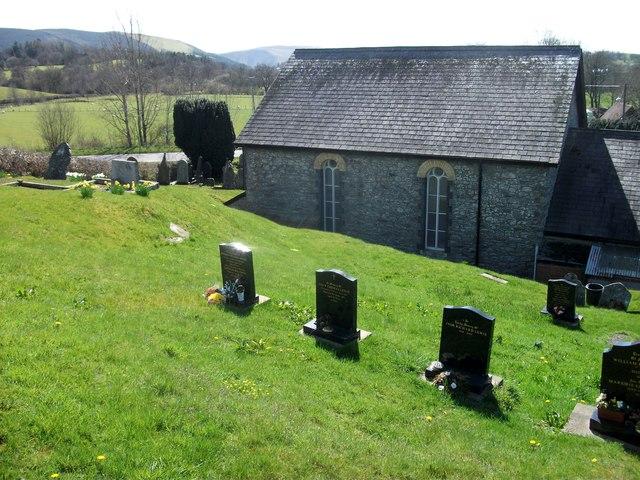Dolau Baptist Church, near Nantmel, Powys