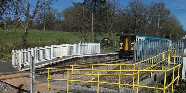Penybont railway station