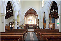 TL0506 : St John the Evangelist, Boxmoor, Hemel Hempstead - East end by John Salmon