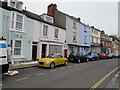 SX9372 : On-street parking, Fore Street, Shaldon by Jaggery