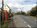 TM1155 : Telephone Box & A140 Norwich Road by Adrian Cable