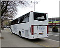 ST3088 : Anglia Tours coach, Queensway, Newport by Jaggery