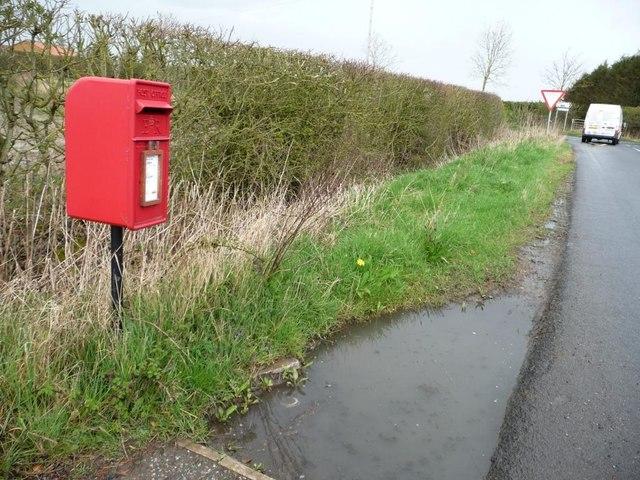 Post box at Brickyard Cottages