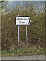TM1155 : Roadsign on Buck's Head Lane by Geographer