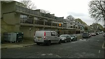 TQ3370 : Central Hill Estate, SE19: looking along Hawke Road by Christopher Hilton