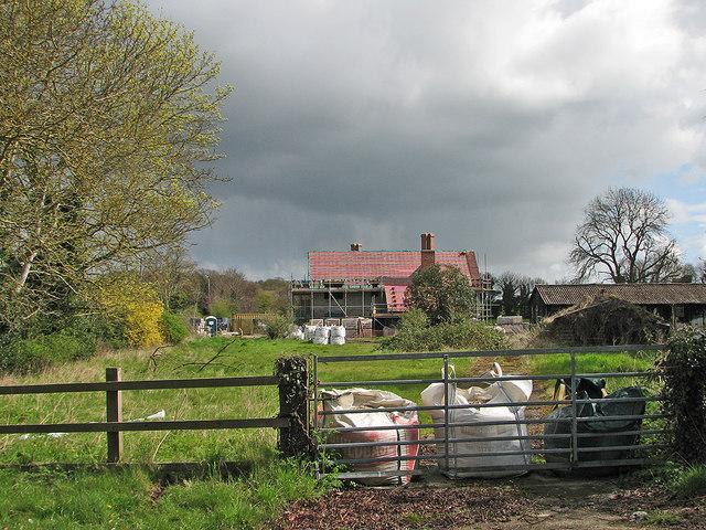 Rebuilding at Granham's Road