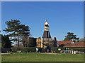 TQ2372 : Wimbledon Windmill without sails by John Allan