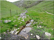 SK1551 : Troughs at the Lin Dale Well by Ian Calderwood