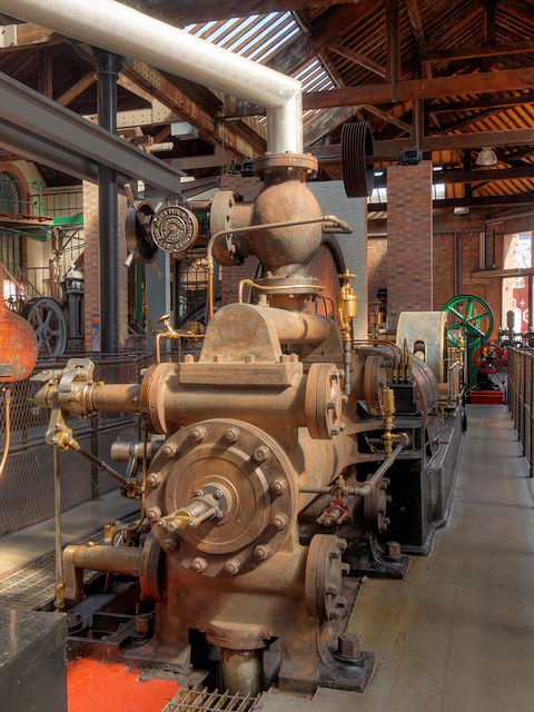 The Firgrove Mill Engine at the Museum of Science and Industry