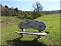 SO9540 : Wychavon Way Seat, Bredon Hill by Jeff Gogarty