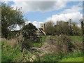 TL4958 : Teversham: towards the church by John Sutton