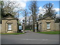 SP7379 : Lodges to Kelmarsh Hall 1-Northants by Martin Richard Phelan