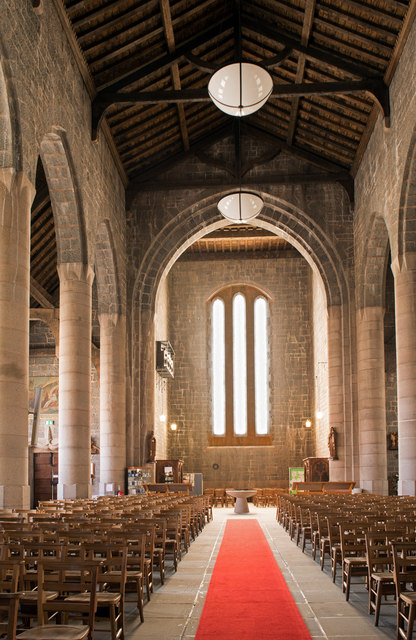 Cathedral Church of St Columba, interior - April 2016 (2)