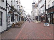 SY6778 : St Mary Street - St Edmund Street by Betty Longbottom