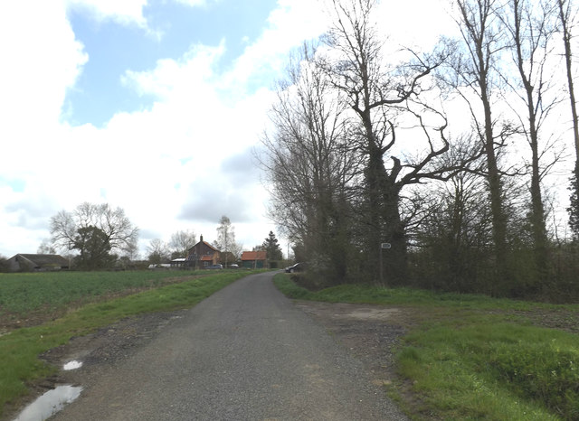 Church lane & footpath