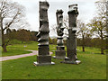 SE2813 : Henry Moore Sculptures at the Yorkshire Sculpture Park by David Dixon
