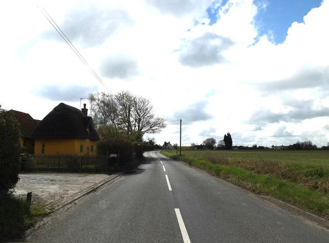 Main Road & footpath