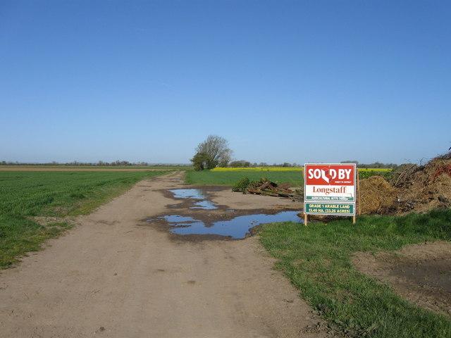 Sold land