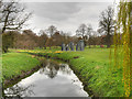 SE2812 : Yorkshire Sculpture Park, River Dearne (The Cut) by David Dixon