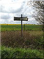 TM1552 : Roadsign on Bells Cross Road by Adrian Cable