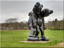 SE2812 : Along The Way (2013) by KAWS at the Yorkshire Sculpture Park by David Dixon