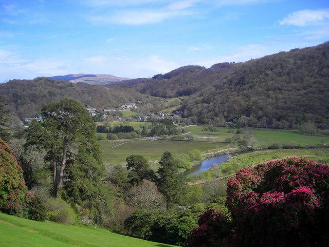 Plas Tan y Bwlch gardens