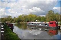 TL3706 : Downstream from Cartheagena Lock by Glyn Baker