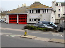 SX9473 : Teignmouth Fire Station by Jaggery