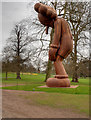 SE2812 : Yorkshire Sculpture Park, Small Lie by KAWS by David Dixon