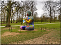 SE2813 : Yorkshire Sculpture Park, Buddha by David Dixon