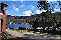SD3787 : Slipway at Lakeside by Ian Taylor