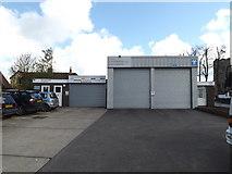 TM1551 : Fiveways Garage, Henley by Geographer