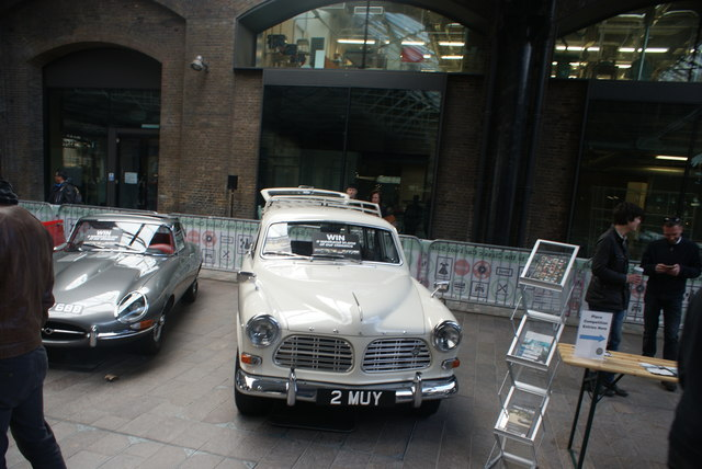 View of a Volvo Amazon in the