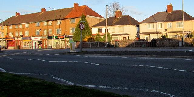 Houses and shops, Malpas Road, Newport